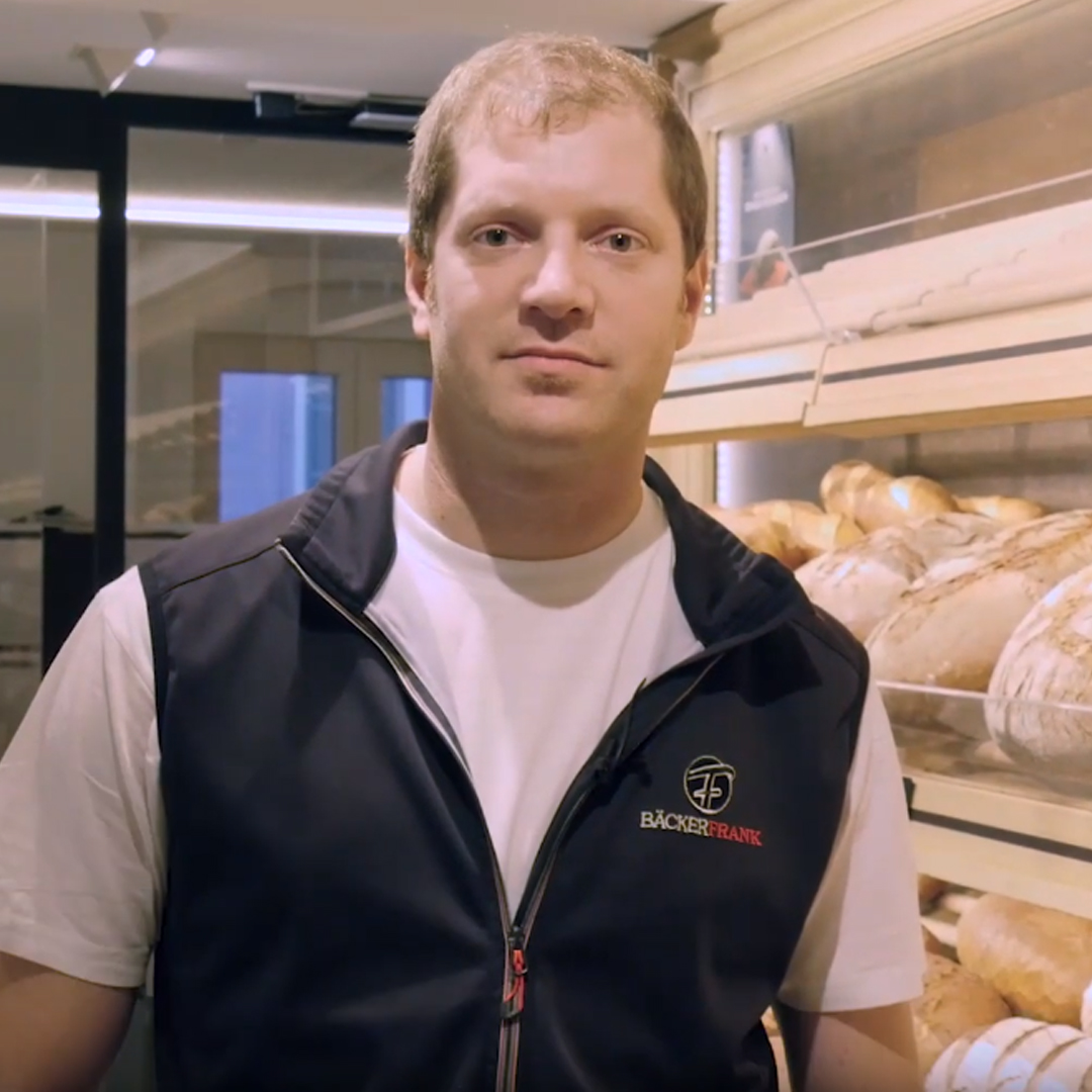 Testimonial Bäcker Frank